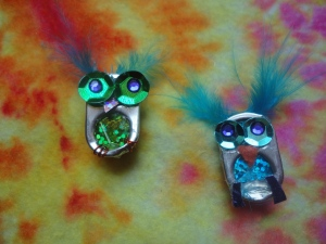 Pop Can Tab Owls